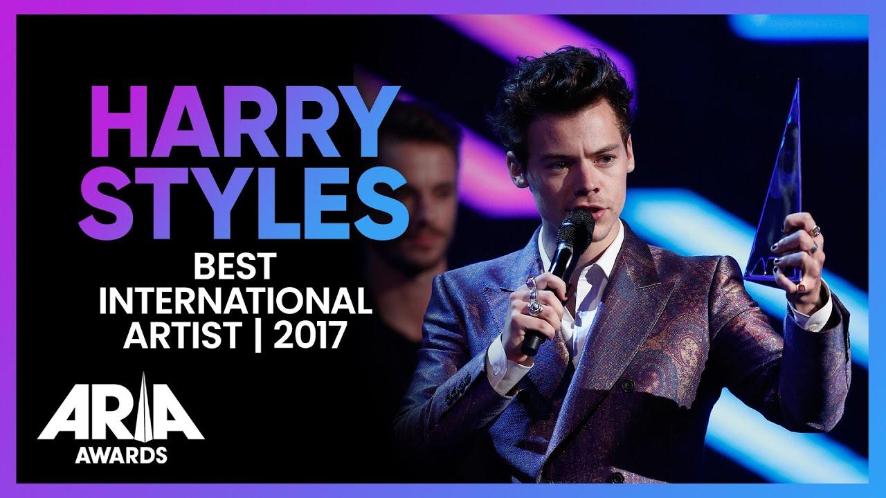 Harry Styles wins Best International Artist | 2017 ARIA Awards