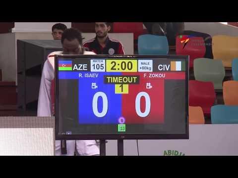 Abidjan GP Final R  ISAEV   AZE vs  F  ZOKOU