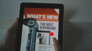 Eyetracking Apple iPad Popular Science App