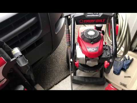 Honda GCV190 Two Pressure Washers Same Problem