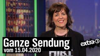 Extra-3-Spezial vom 15.04.2020 mit Sarah Kuttner