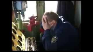 """Авария на станции """"Бадеево"""" ( уч. фильм """"РЖД"""")"""