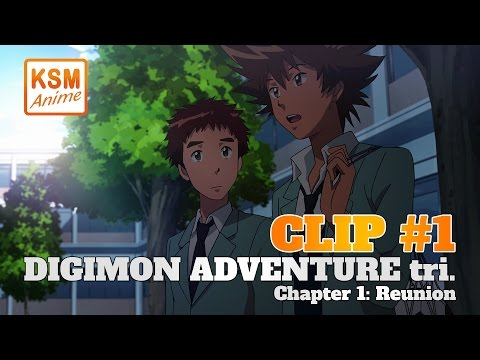 Digimon Adventure tri. Chapter 1: Reunion (Clip 1)