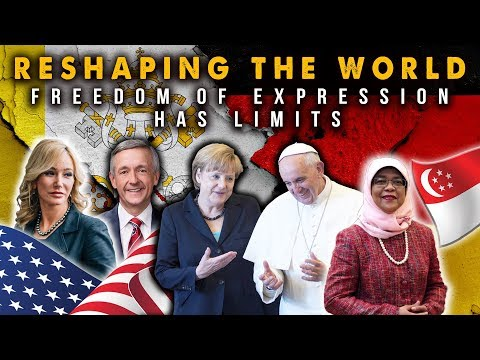 Pope,Merkel,US,Singapore Reshaping World,Freedom of Expression Has Limits.Eat From Tree of Life NOW!