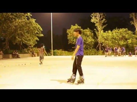 patin Việt Nam inline skate tập luyện cơ bản