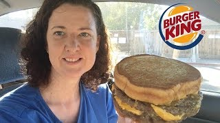 Burger King | Sourdough Philly Cheese KIng | Food Review