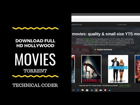 How To Download FREE Full HD Bluray Hollywood Movies From Torrent (Updated Site)