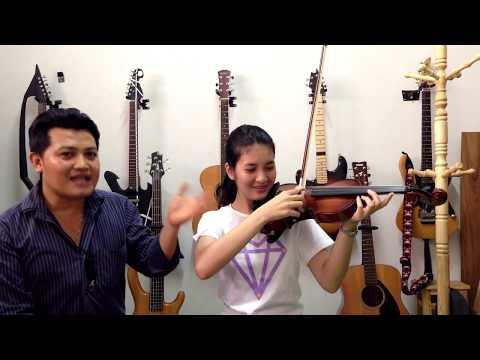To music violin lesson แบบฝึกหัดที่1 รู้จักไวโอลินและการสีแบบที่1 โรงเรียนสอนดนตรีทูมิวสิค