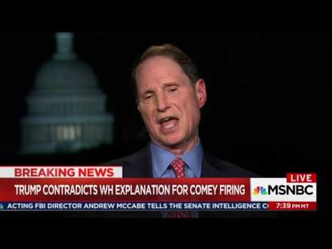 Wyden on Maddow Discussing Comey Firing