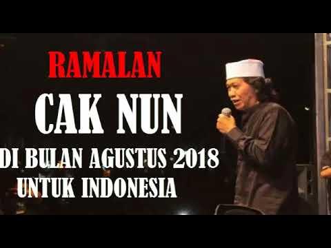 RAMALAN CAK NUN DI BULAN AGUSTUS UNTUK INDONESIA 2017