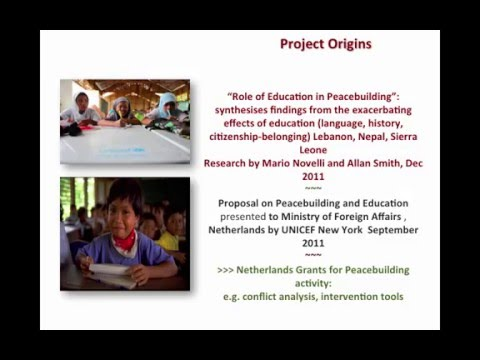 TIRF at 2016 TESOL: Building Peace Through Language Policy and Planning