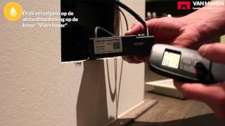 Hoe vervang ik de batterijen van mijn gashaard?