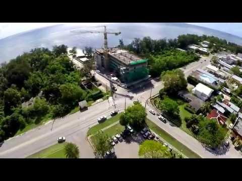 """SAIPAN ISLAND , """" Chalan Kanoa """" - aerial views ( PART 2 )  - - - - By: Roger P. Cadua"""