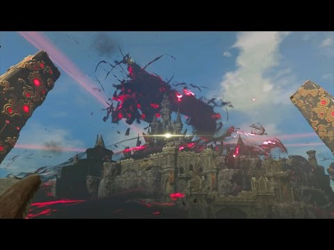 Zelda Breath of the Wild: Ganon Final Boss Fight