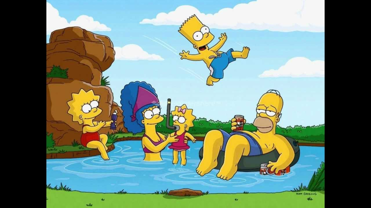 The Simpsons Day By Day Song Youtube