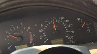 лоб в лоб - ваз-2115 на скорости в 99 км/ч и ваз-2110 на 50 км/ч