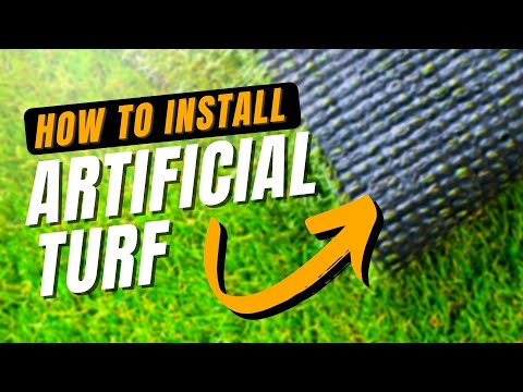 How to Install Artificial Turf   A DIY How To Guide