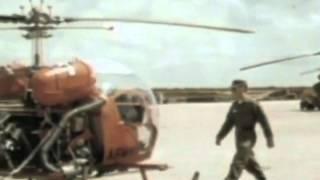 Người hùng và giai nhân. Hùng Cường. Hình ảnh: Hanchey heliport.