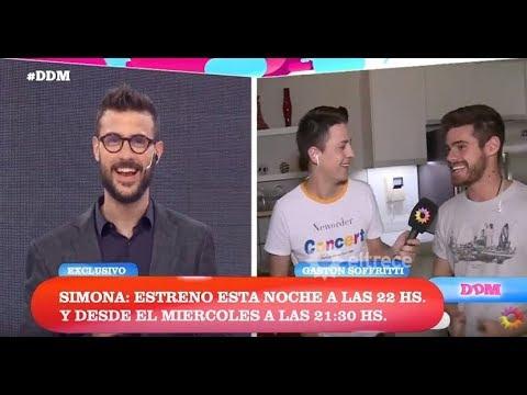 #ExclusivoDDM: Gastón Soffritti y una recorrida exclusiva por los estudios de Simona