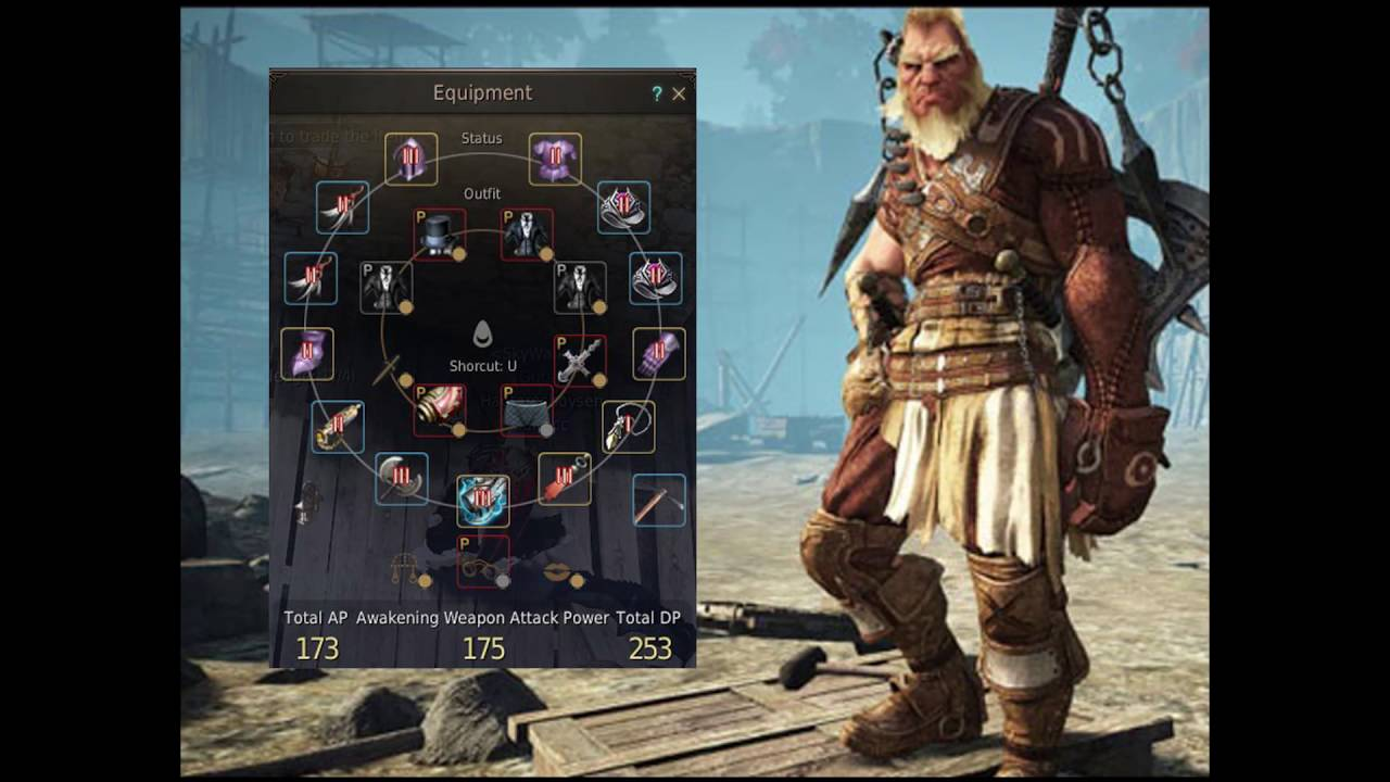 Black Desert Online Berserker Gear Build