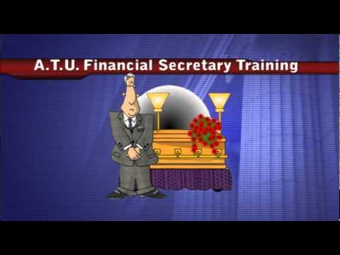 ATU Financial Secretary Training