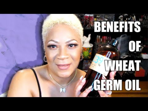Wheat Germ Oil HIGH VITAMIN E Benefits for Dry and Aging Skin NOT FOR OILY SKIN