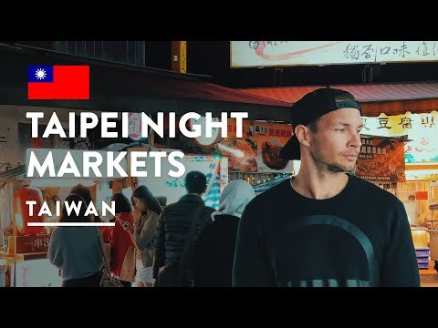 HOW EXPENSIVE IS STREET FOOD IN TAIPEI? SHILIN NIGHT MARKET | Taiwan Travel Vlog 113, 2018