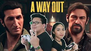 A Way Out Gameplay with Thirdy & Raine PART 2