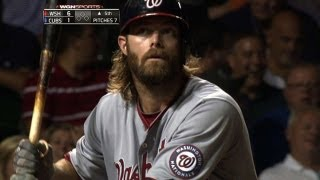 Villanueva freezes Werth with 57-mph pitch