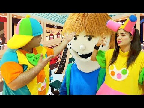 علوش ومروش وبربوش في المركز التجاري  | Aloush & Maroush at the mall