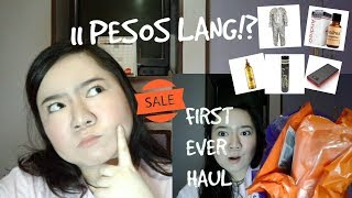 LAZADA 11.11 SALE Online Revolution | Shopping Fest | First Ever Haul