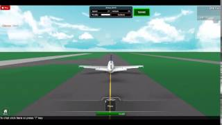 SAS A319 Taxi, takeoff and landing Roblox