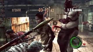 The Mercenaries Tricell RoofTop Solo 584k Chris Safari   Resident Evil 5 PC