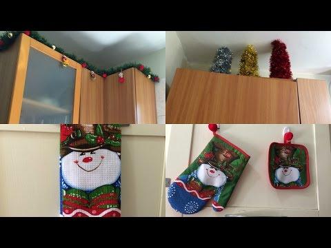 decorando-la-cocina-para-navidad/-decoraciÓn-navideÑa-/vlogs-diarios