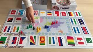 Společenská hra - Vlajky