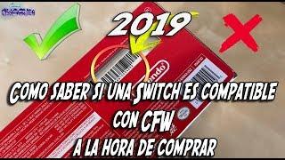 Cómo saber si una Switch es compatible con CFW a la hora de comprar 2019✔️✔️