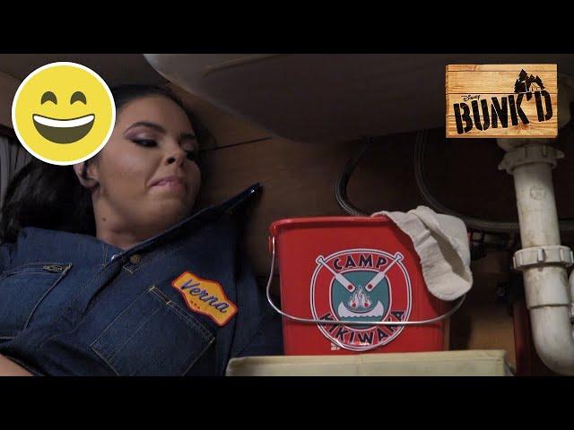 Boremaskinen | Bunk'd | Disney Channel Danmark