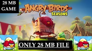 How To Download And Install Angry Birds Seasons Game For Pc