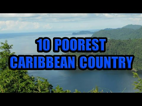 10 Poorest Caribbean Country 2020