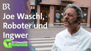 Joe Waschl, Roboter und Ingwer