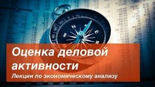 Выпуск II Оценка деловой активности
