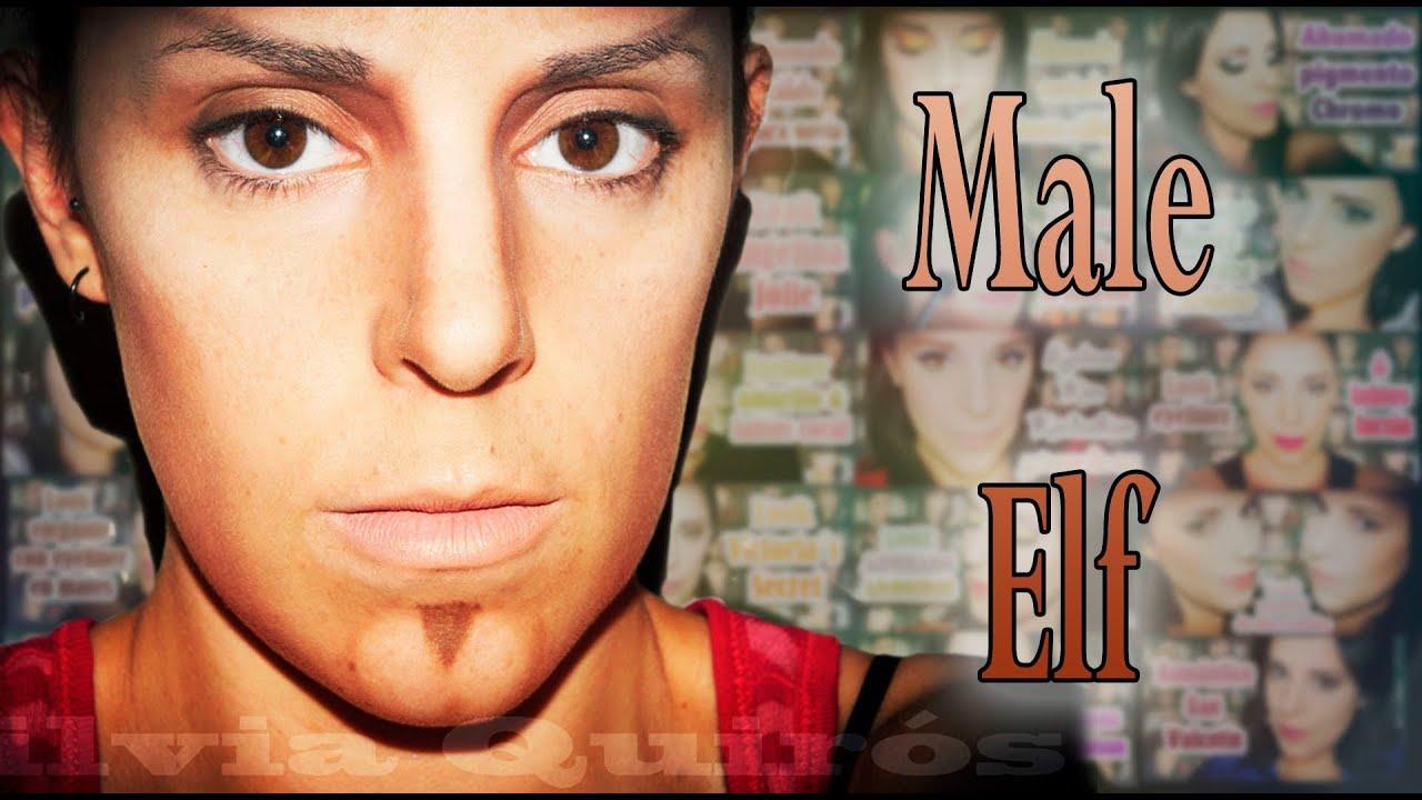 Male Elf Makeup Fantasy Carnival Silvia Quiros Youtube