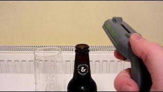 Cap Gun Bottle Opener And Barrel Aged Innis & Gunn Blood Red Sky Review