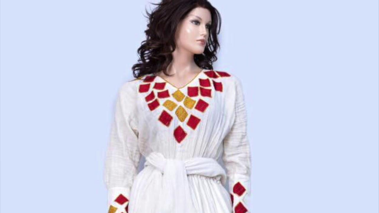 ac841a4b8a448 Sosina Ethiopian Traditional Clothes (yehager lebesoch) Atlanta ...