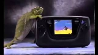 Spanish Sega Game Gear Commercial - Retro Video Game Commercial / Ad