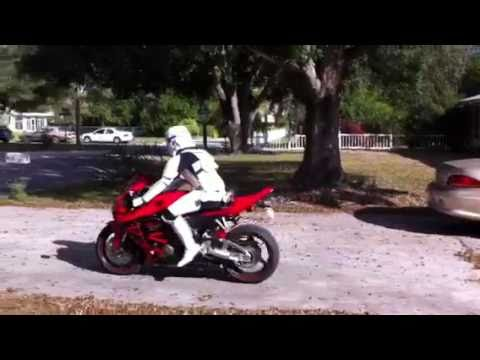 Cbr Stormtrooper Motorcycle Rider Part 1 Youtube