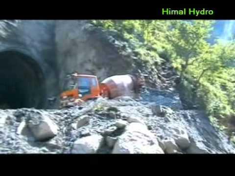 Himal Hydro - Upper Tamakoshi Powerhouse Access Tunnel Construction.DAT