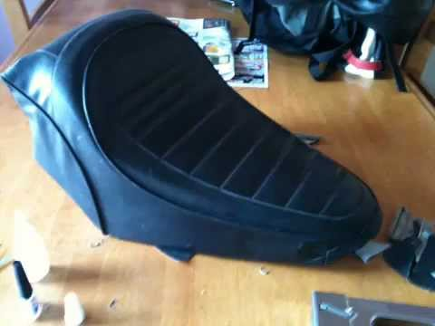 How To Make A Bobber Seat Youtube