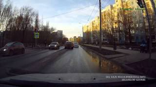 Проезд на красный. Аварии нет. Самара