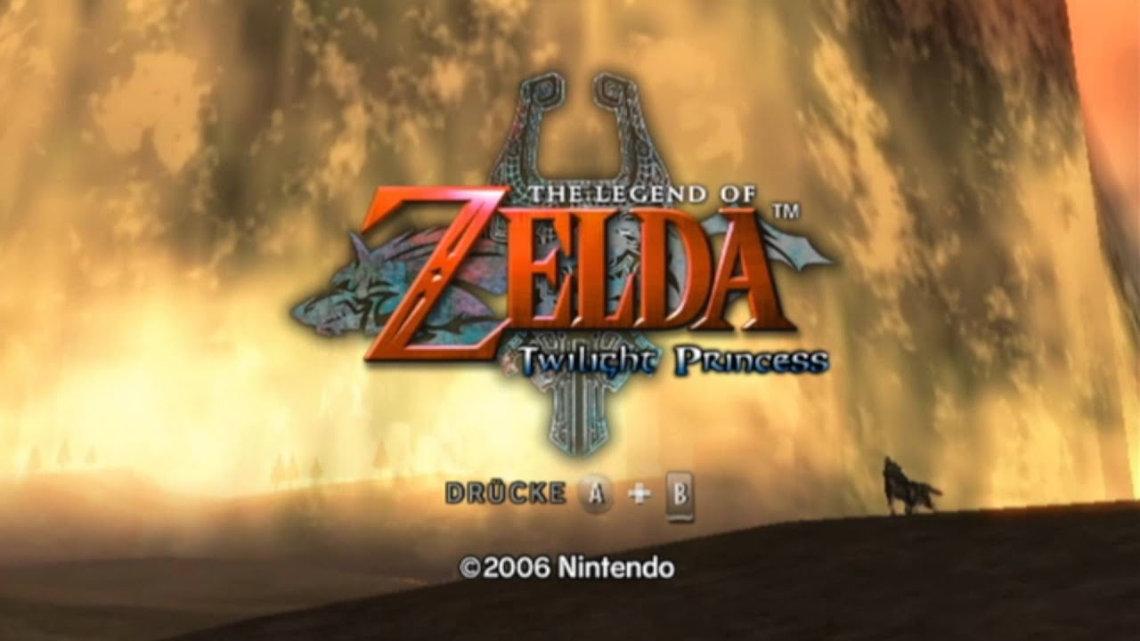 The Legend Of Zelda Wallpaper Hd The Legend Of Zelda Twilight Princess Intro Full Hd